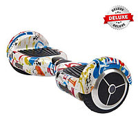 Гироскутер Smart Balance Wheels 6.5 deluxe-edition граффити белый