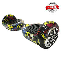 Гироскутер Smart Balance Wheels 6.5 deluxe-edition граффити черепа