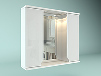 Шкаф навесной с зеркалом Лотос 750 мм 2 двери