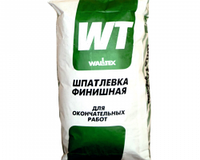 "Шпатлевка финишная ""WT"" WALLTEX 25кг в бум.мешках"