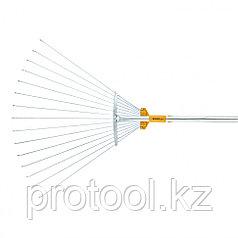 Веерные грабли телескопические, раздвижные // PALISAD LUXE