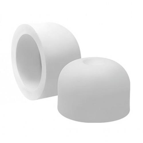 Заглушка 40 ПП (белый)