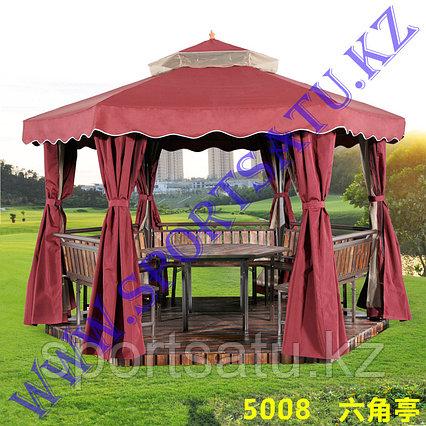 Беседка шатер для дачи и сада шестигранная