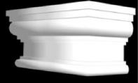Капитель пилястры КК 002, фото 2