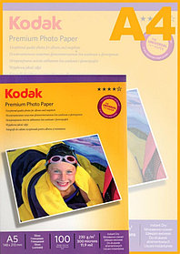 Фотобумага KODAK Premium Photo А5/100 листов/230г/м