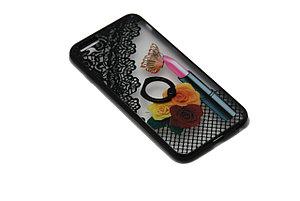 Чехол с кольцом силиконовый LG K5, фото 2