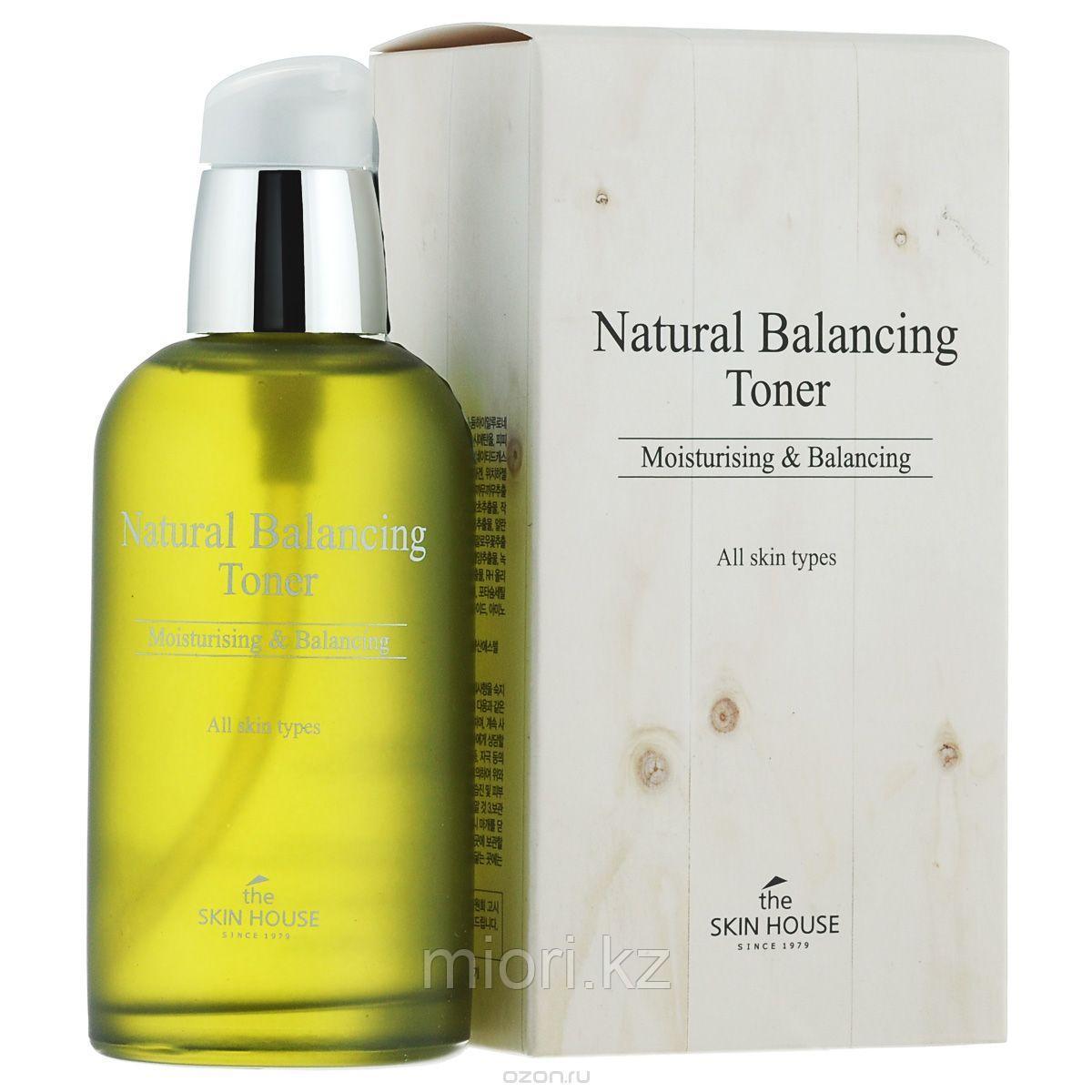 Увлажняющий и балансируюший тоник The Skin House Natural Balancing Toner,130мл