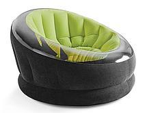 Надувное кресло Intex 68581 Зеленый (Габариты: 112 х 109 х 69 см), фото 2