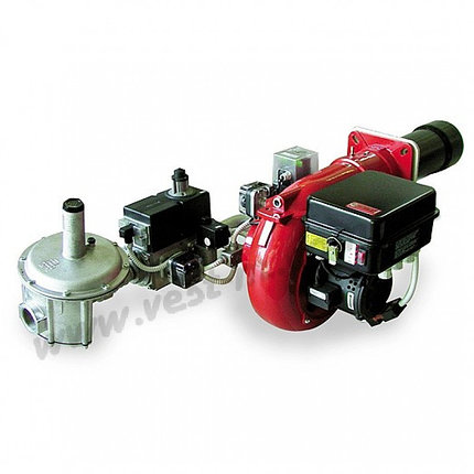 Горелка газовая фирмы FBR модель GAS XР-100/2, 2-х ступенчатая мощность 581-1162 кВт, фото 2