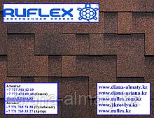 Битумная черепица RUFLEX Runa (Медный отлив), SBS (СБС) модифицированная, т.+7(777)470 0045