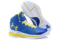 "Кроссовки Under Armour Curry One (1) ""Yellow Blue"", 40 размер"