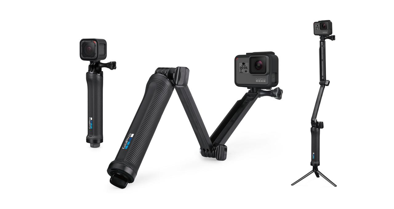 GoPro® Монопод-транформер, 3-Way - GoPro Camera Mount - Grip, Extension Arm or Tripod