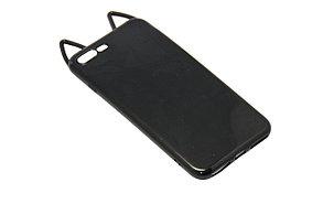 Чехол Кошка Силиконовый iPhone 7 Plus, фото 2