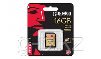 Карта памяти SD 16GB Class 10 U1 Kingston SD10VG2/16GB