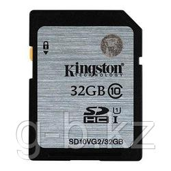Карта памяти SD 32GB Class 10 U1 Kingston SD10VG2/32GB