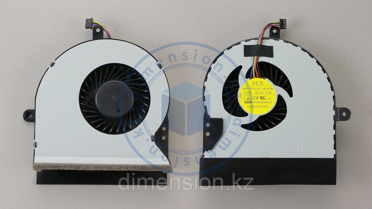 Кулер, вентилятор ASUS G751 G751JT G751JM G751JM-BHI7T25