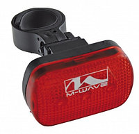 "Фара задняя ""Atlas lr M-Wave flashlight, red, 3LED,s ,3 functions 221040 Белторг"