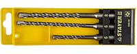 Сверла набор по бетону  SDS-plus 3шт (6,8,10х160мм)