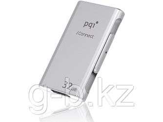 USB Флеш для Apple PQI iConnect 001 6I01-032GR1001 32GB Серебро