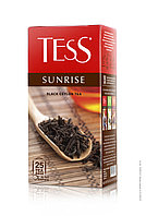 Tess Sunrise, black tea, чёрные 25 пак