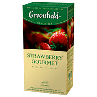 Greenfield Strawberry Gourment,blaсk-25пак