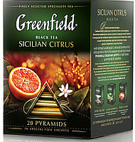 Greenfield Sicilian citrus, black tea, (1,8x20x8)