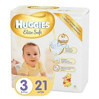 Подгузники Huggies Elite Soft 3 (5-9 кг) 21 шт.