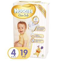 Подгузники Huggies Elite Soft 4 (8-14 кг) 19 шт.