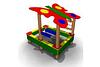 Детская Песочница «Махаон» Размеры: 2180 х 1820 х 1735 мм