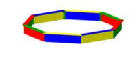 Детская Песочница круглая Размеры: 3285 х 3285 х 300 мм