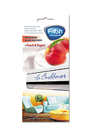 FRESH Ароматизатор AIR CONDITIONER COUNTER DISPLAY PEACH & YOGHURT