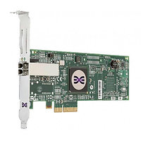 ND407 Сетевой Адаптер Dell (Emulex) LPE1150 FC1120005-15B L2B2777 4Гбит/сек Single Port Fiber Channel HBA LP PCI-E4x