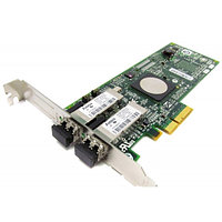 397740-001 Контроллер HP 4Gb PCIe-to-Fibre Channel (FC) host bus adapter - StorageWorks FC2242SR dual-channel