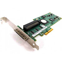 NU947 Контроллер SCSI Dell (LSI Logic) LSI20320IE Int-1x68Pin Ext-VHDCI RAID0/1 UW320SCSI PCI-E4x