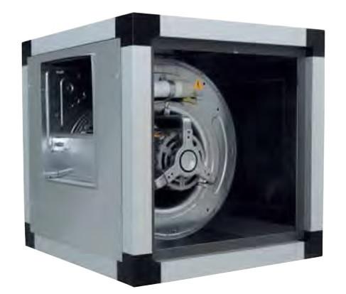 Канальный вентилятор VORT QBK SAL 10/10 6M 1V