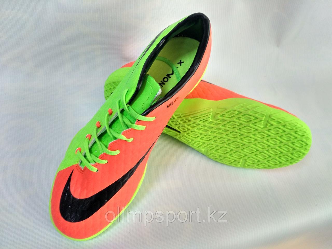 Обувь футбольная, футзалки Nike HypervenomX