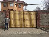 Ворота + калитка, фото 3