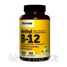 Jarrow Formulas, Метил B-12, со вкусом лимона, 1000 мкг