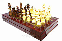 Шахматы 3в 1 (380мм x 380мм)