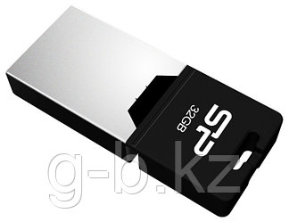 Silicon Power UFD 2.0, Mobile X20, 32GB, OTG Black /