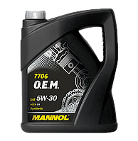 MANNOL O.E.M. for Renault Nissan 5W30 C4 7706  5L