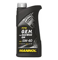 MANNOL O.E.M. for Daewoo GM 5W40 SN/CF 7711  1L