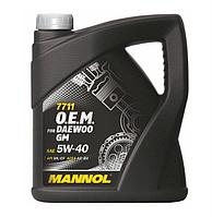 MANNOL O.E.M. for Daewoo GM 5W40 SN/CF 7711  4L