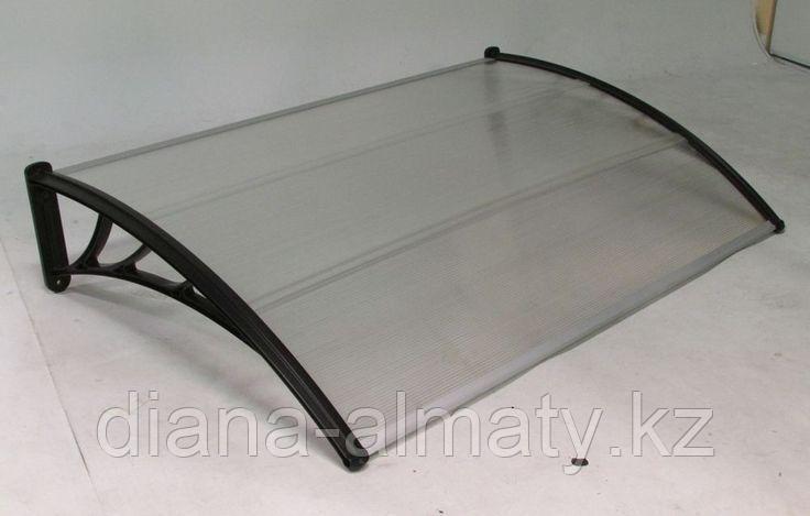 Защитные козырьки (Навес) StopRain 150*93*28 (Бронза, серебро)