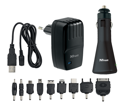 Trust 17154 SmartCharge USB Wall & Car Charger