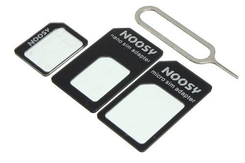Адаптеры Noosy для Sim 4 в 1