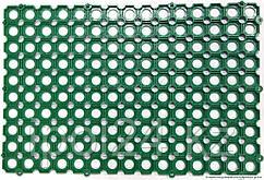 Коврик модульный-ячейка 40см х60смх12мм (зеленый, серый ,черный)