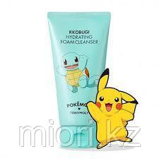 Увлажняющая пенка для умывания Tony Moly Pokemon Kkobugi Foam Cleanser,150мл