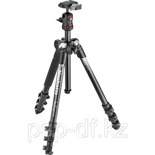 Manfrotto Befree Color Aluminum Travel Tripod (Gray)