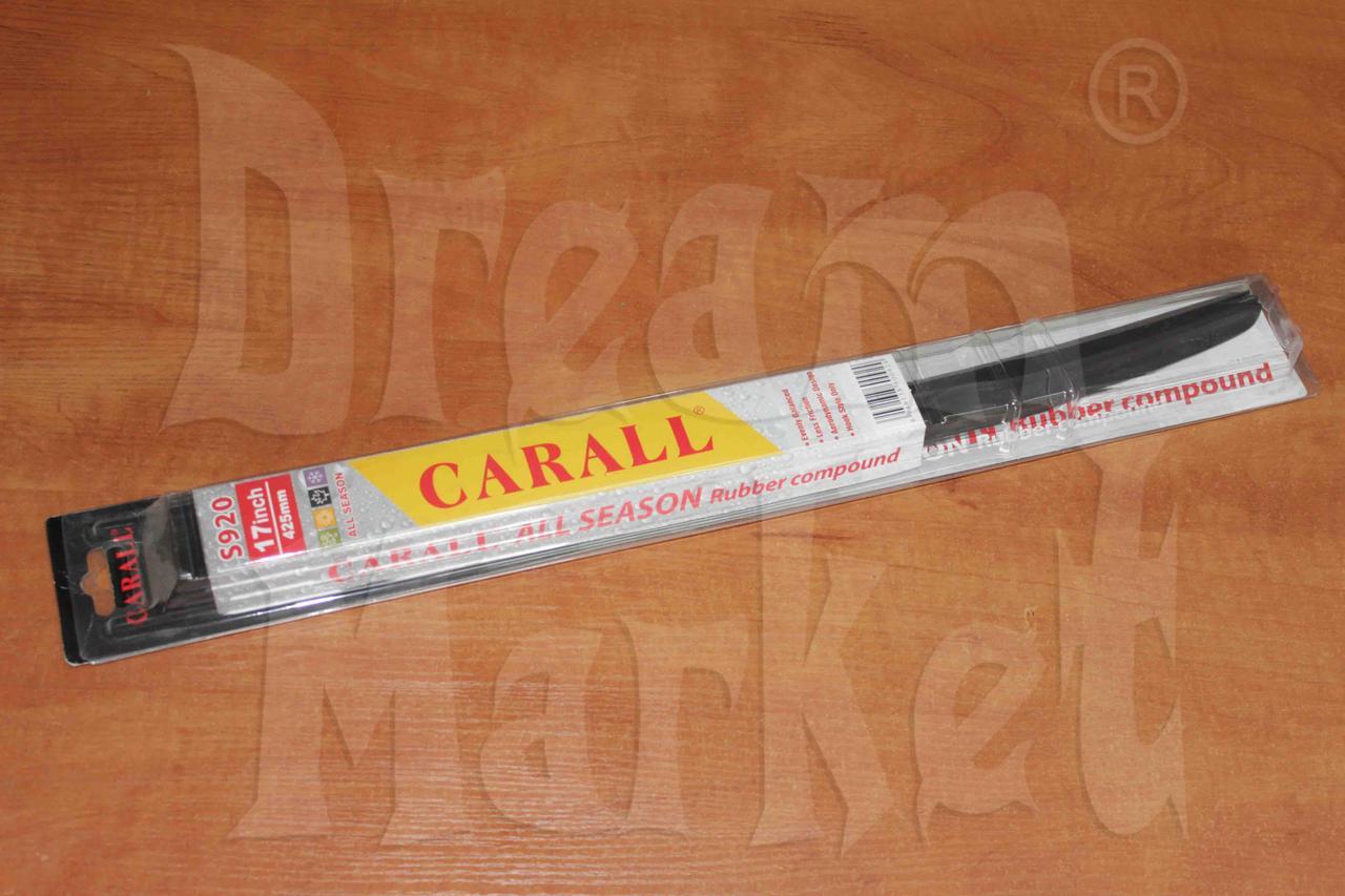 """Щетка стеклоочистителя Carall 17"""" 430мм гибридная"""